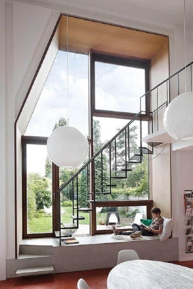 casas lindas e bem iluminadas
