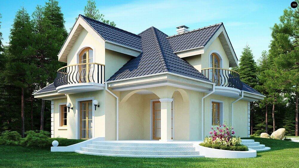 casas perfeitas com fachada clean