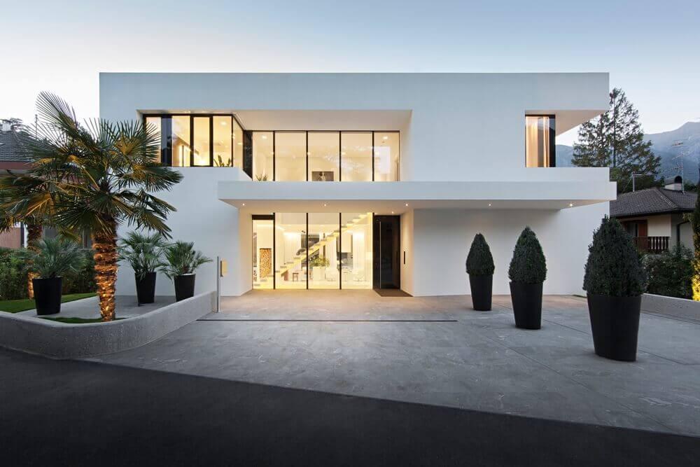 casas perfeitas com fachada minimalista