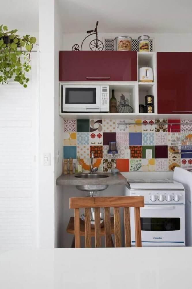 casas simples com azulejo decorativo