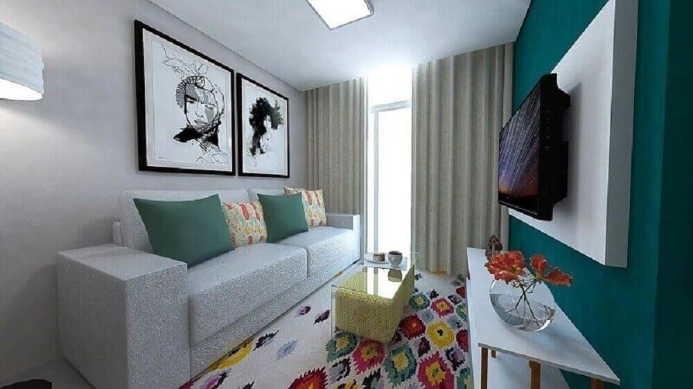 cores para casas pequenas e lindas