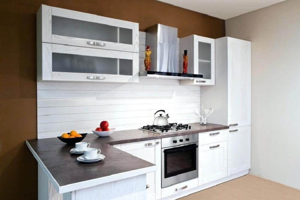 cozinha simples e branca