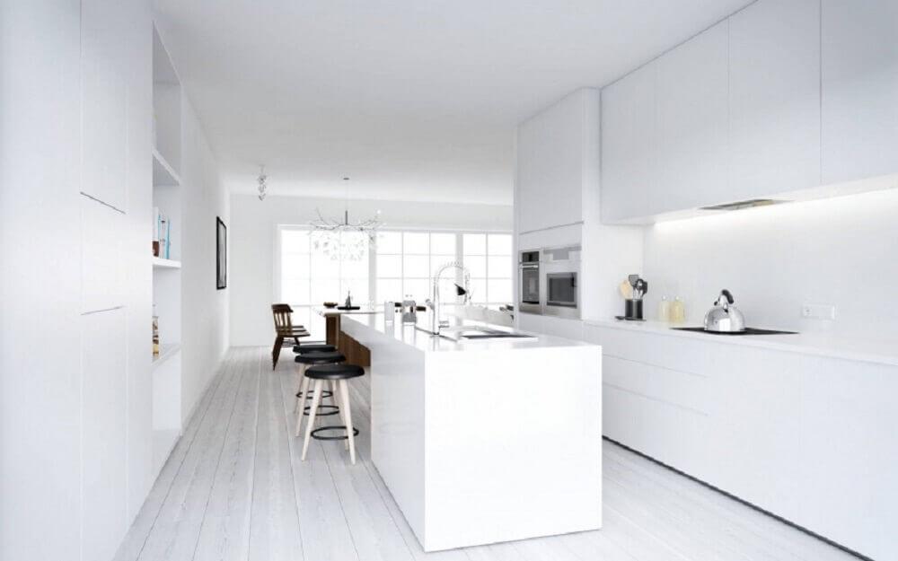 cozinhas modernas e claras