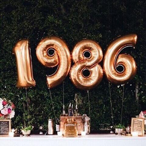decoração de aniversário simples com balões