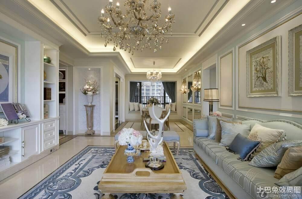 decoração de casa de rico