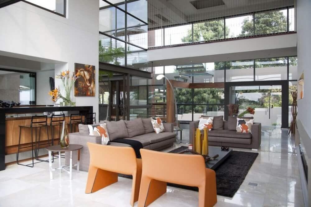 decoração moderna para casas luxuosas