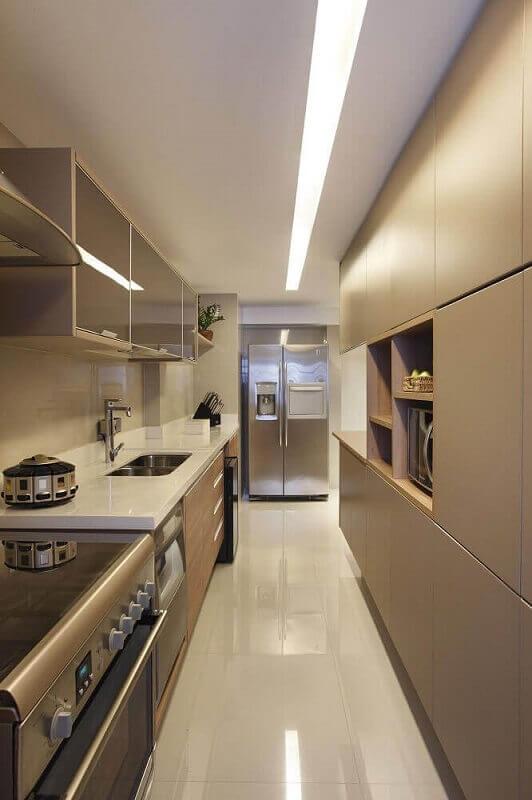 Inspiração para decoração de cozinhas pequenas e modernas