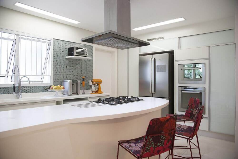 Decoração de cozinhas planejadas modernas e simples