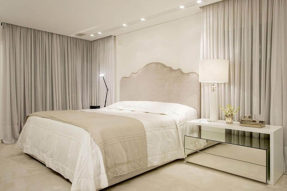 Diferentes luminária para quarto de casal neutro