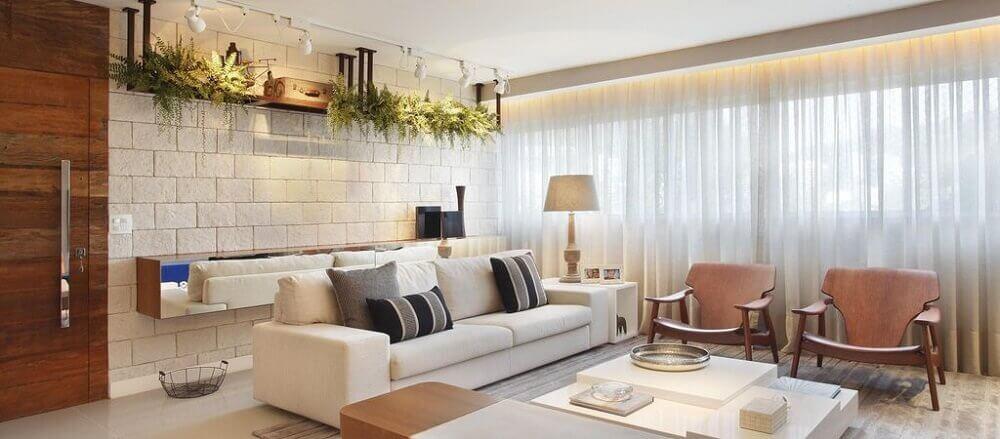 Almofadas para sof como escolher 50 modelos para inspirar for Programa para decorar interiores online