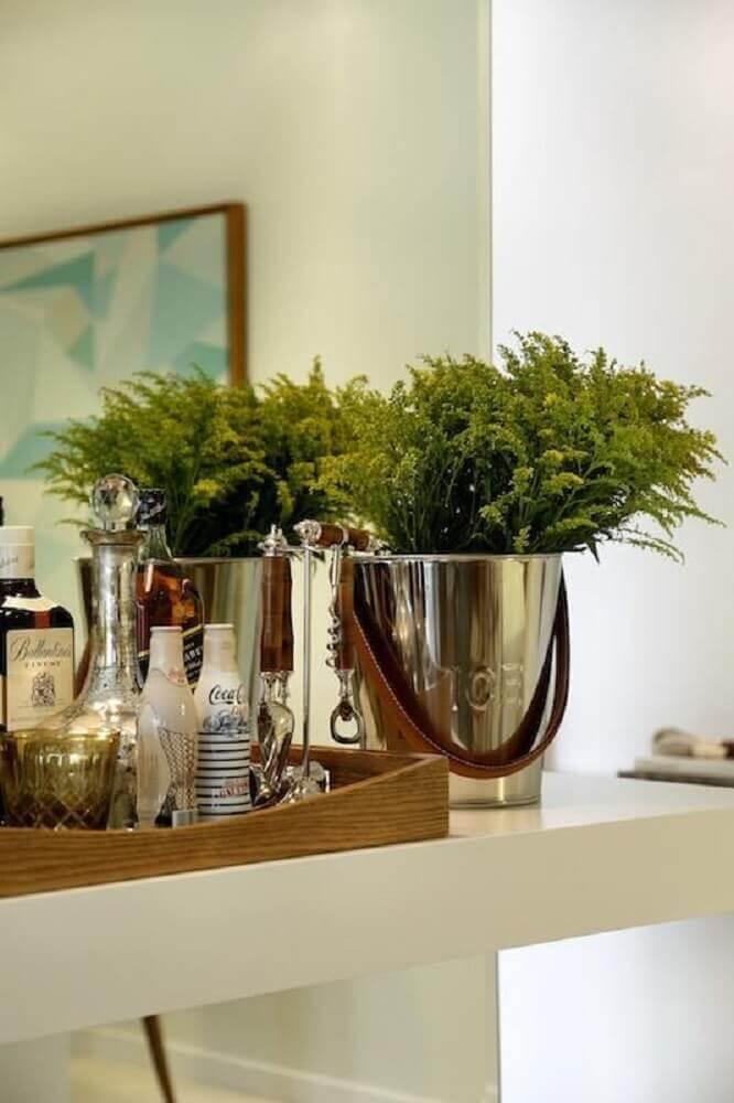 Modelo de vaso decorativo para plantas