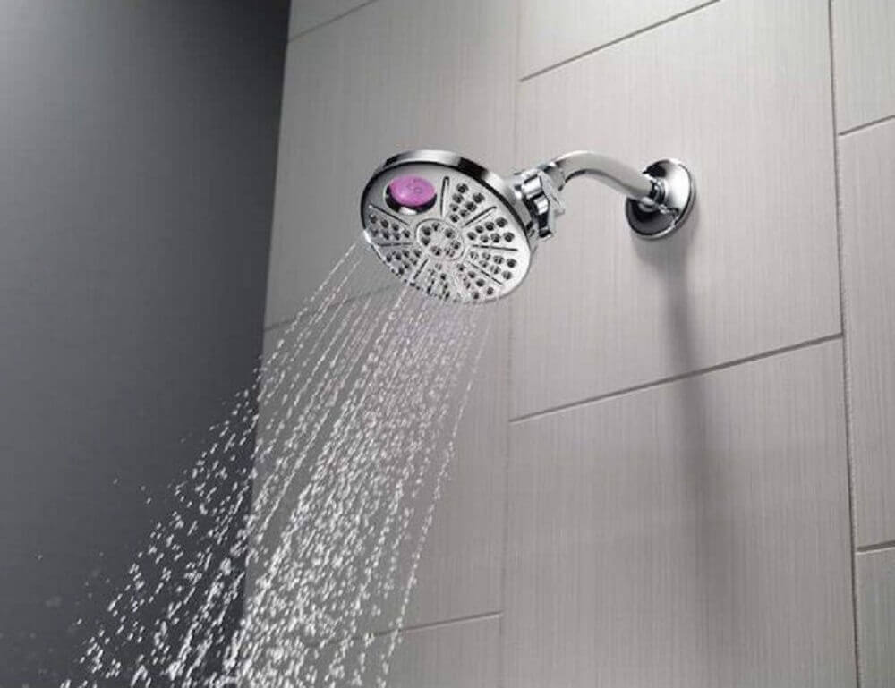 ducha elétrica com visor digital
