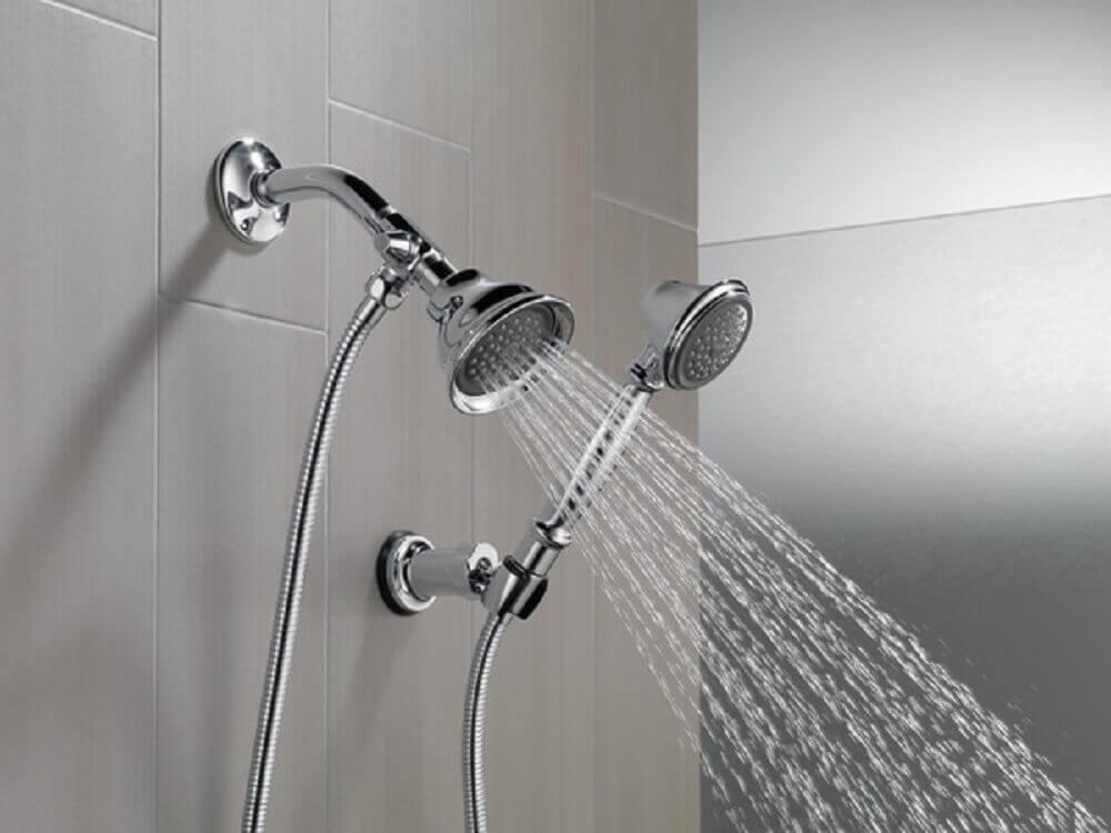 chuveiro de parede
