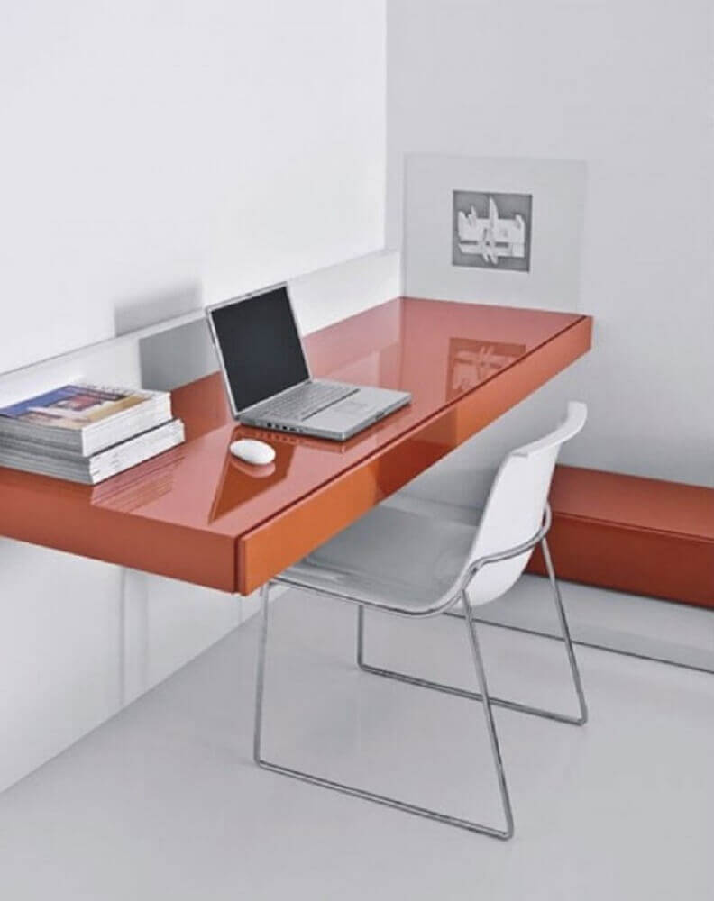 escrivaninha suspensa simples