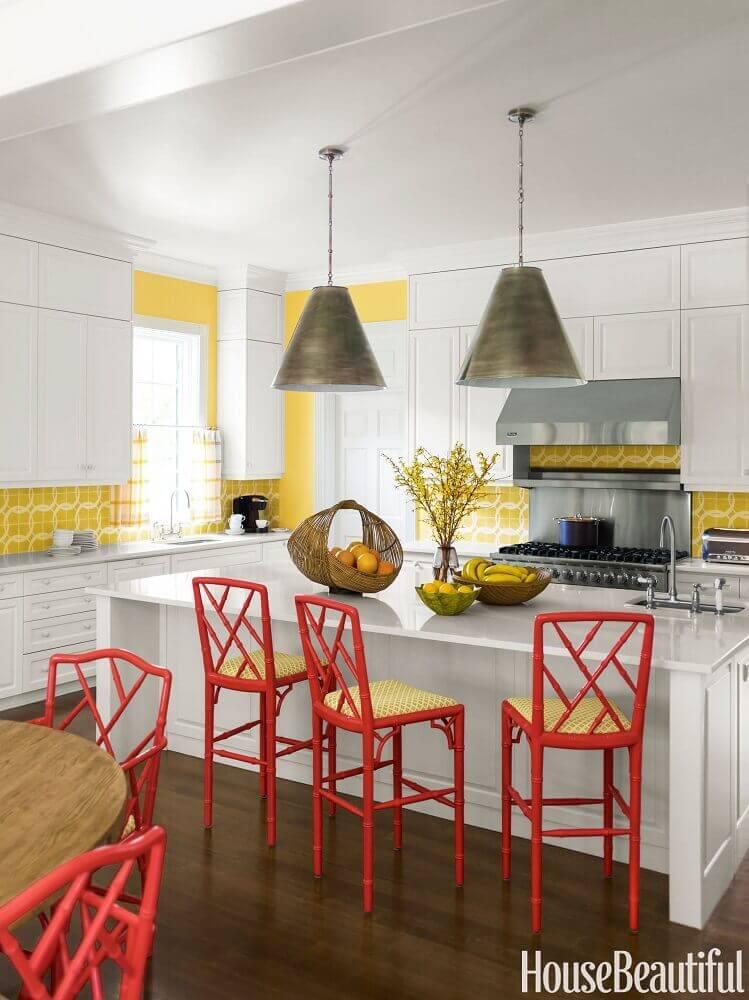 luminária de metal para cozinha