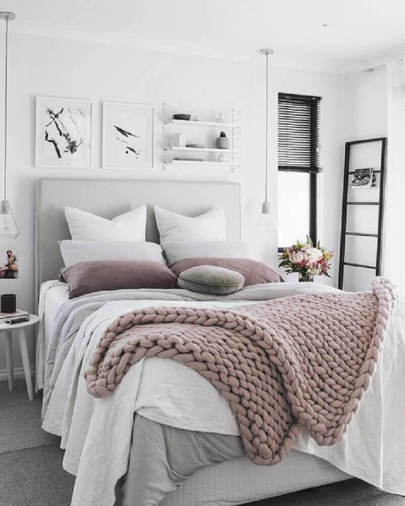 luminária para quarto clean