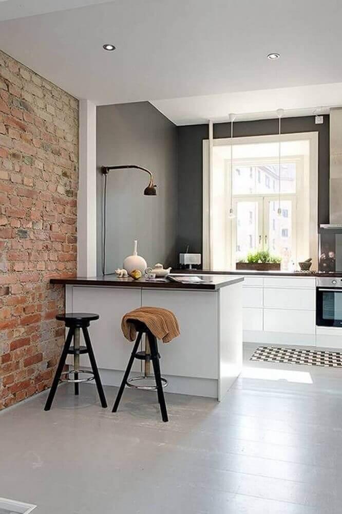 luminária simples para cozinha pequena