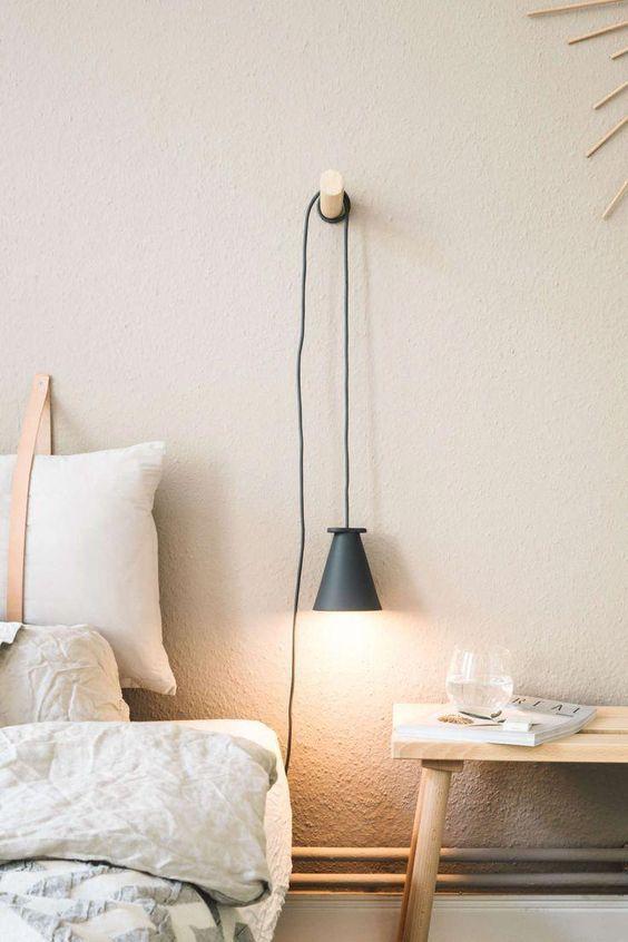 Luminária para quarto diferente e bonita