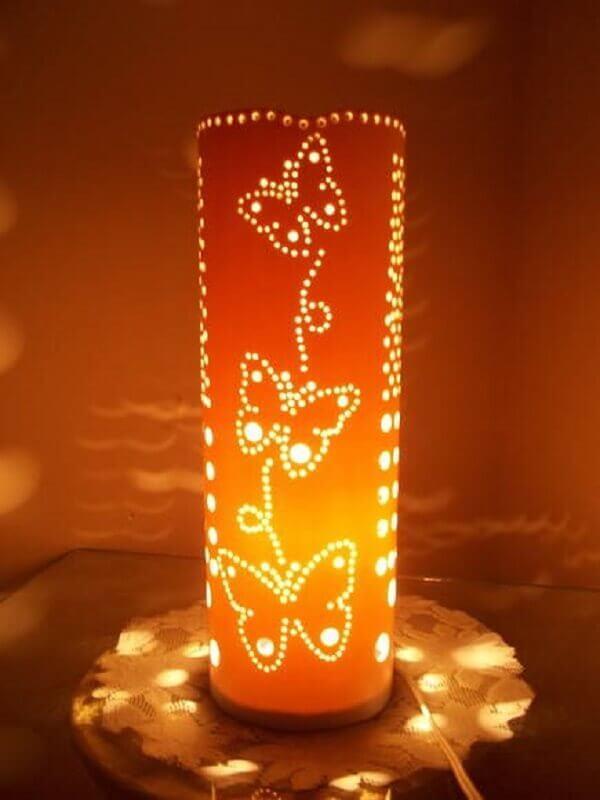 Luminaria De Pvc Como Fazer 31 Modelos Para Se Inspirar