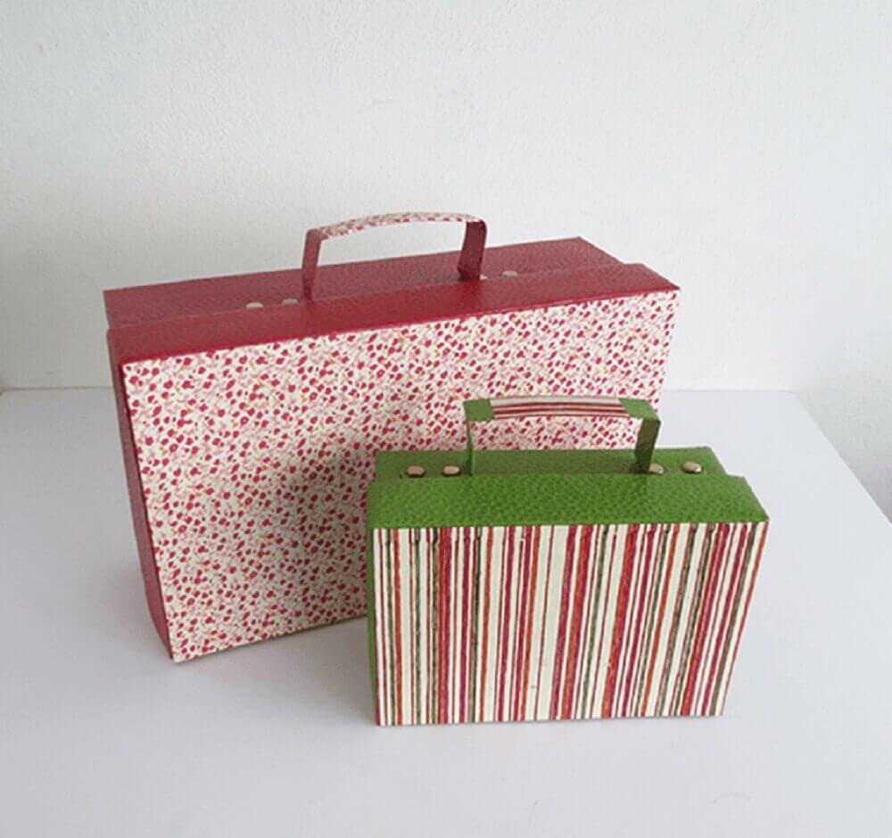 maleta de caixa de sapato