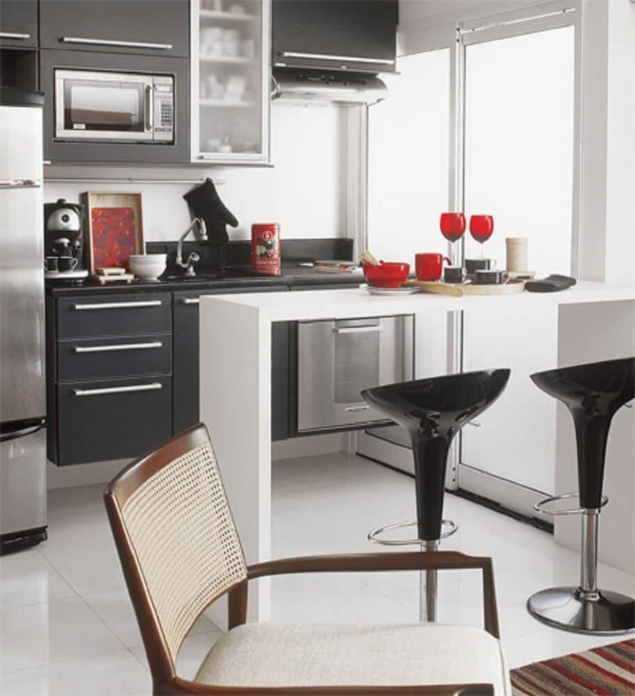 modelo de cozinhas pequenas e modernas
