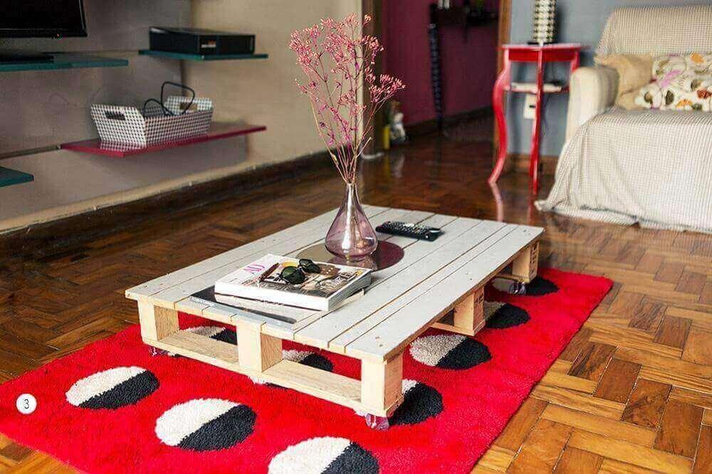 modelo de mesa de centro de pallet