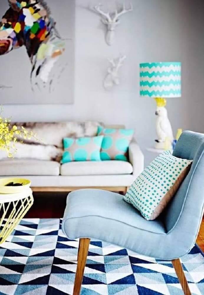 modelos de almofadas para sofá na decoração