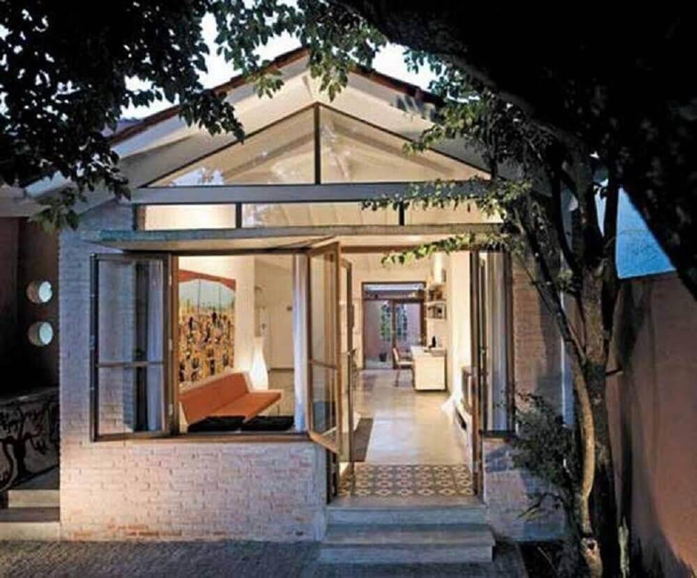 modelos de fachadas de casas simples e pequenas