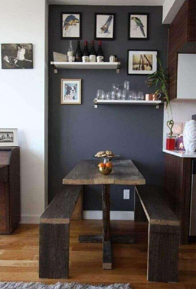 modelos de mesas rusticas pequenas