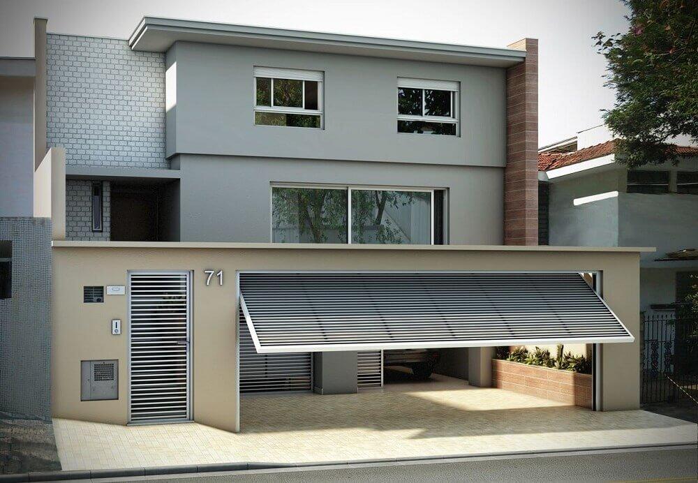 Modelos de muros de casas