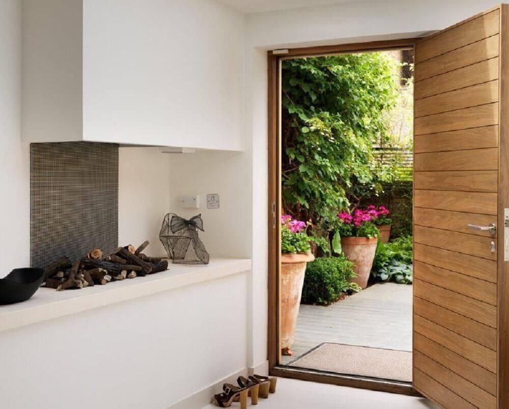 modelos de portas de madeira