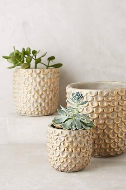 modelos de vasos decorativos Foto Pinosy