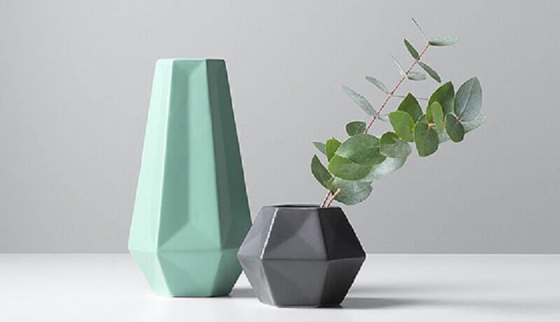 modernos vasos decorativos