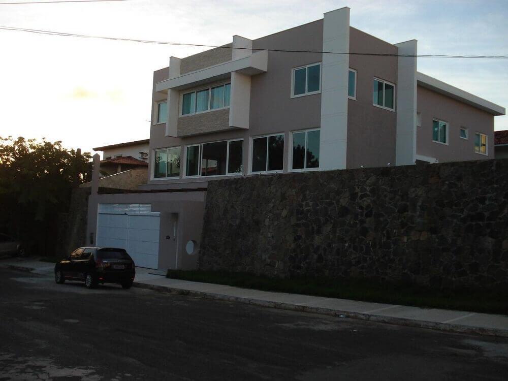 pedras para muros de casas