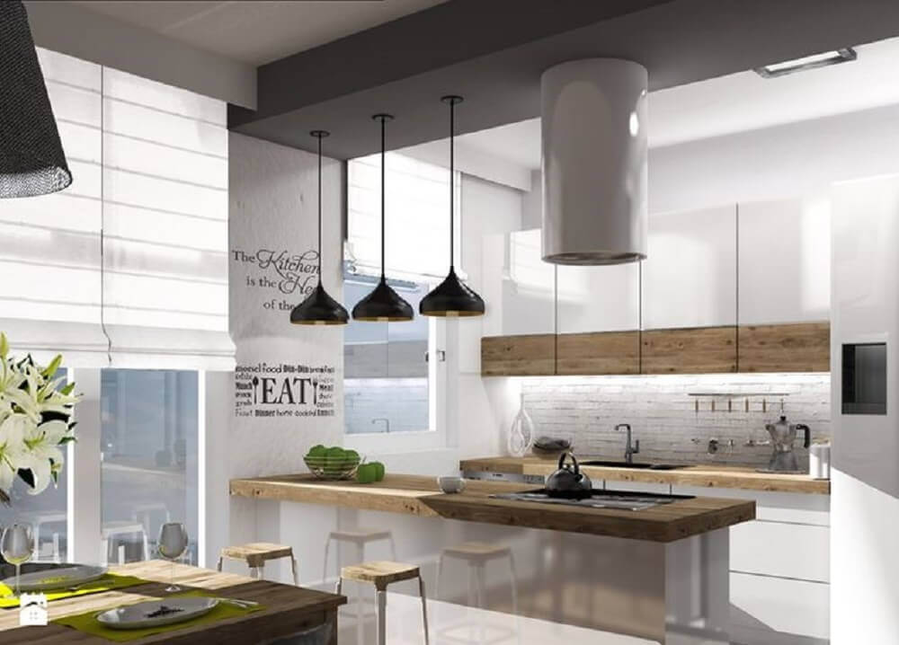 pendente para cozinha moderna