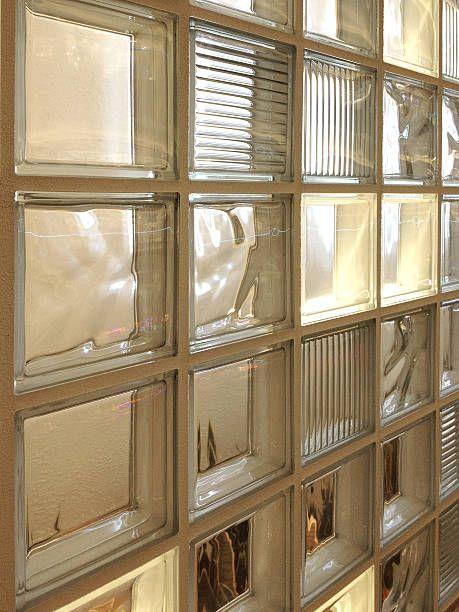 tijolo de vidro - detalhe de tijolo de vidro
