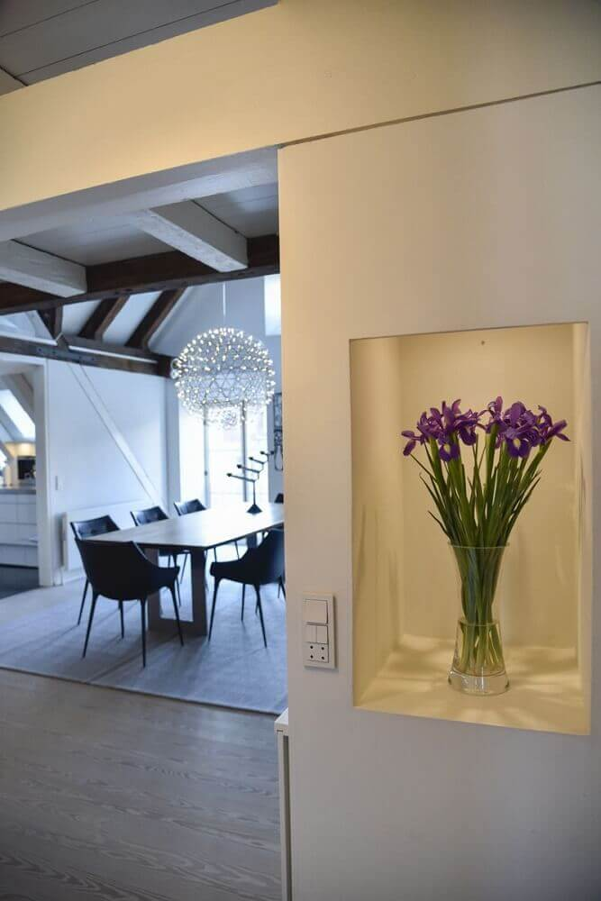 delicado vaso decorativo para plantas