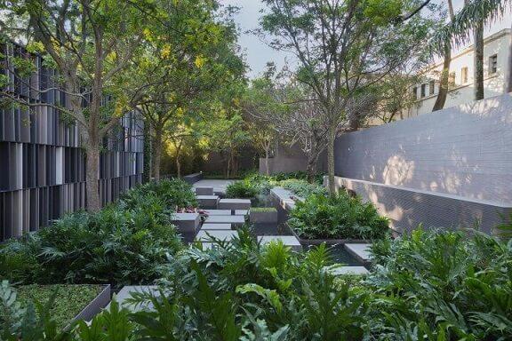 Como fazer um jardim com várias plantas Projeto de Casa Cor 2016