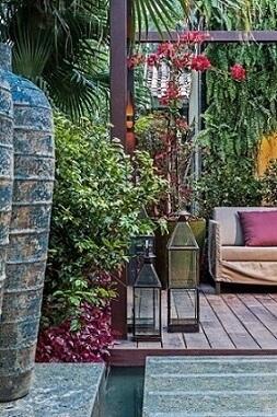 Como fazer um jardim com várias plantas Projeto de Elmor Arquitetura