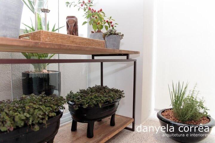Como fazer um jardim de inverno com móvel Projeto de Danyela Correa