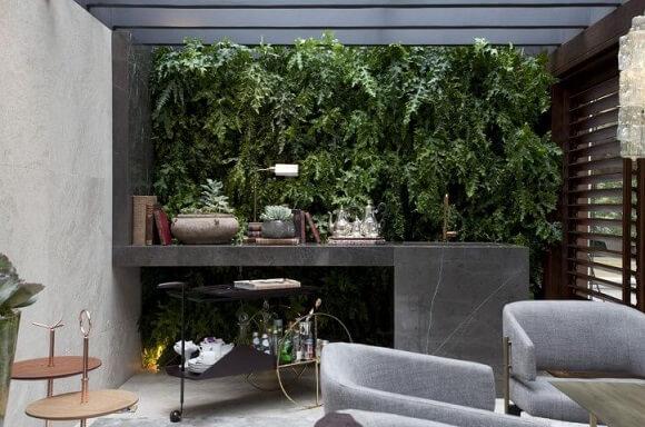 Como fazer um jardim vertical Projeto de Casa Cor 2016