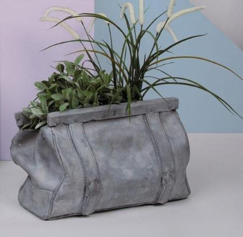 Como fazer vaso de cimento em formatos diferentes