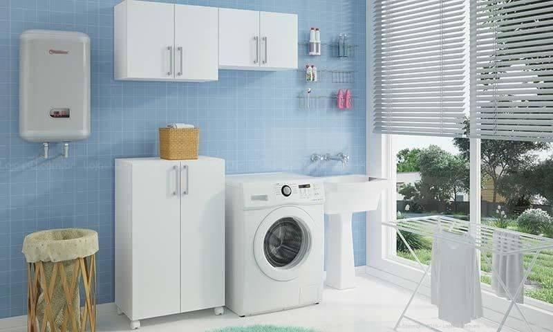Como lavar roupa Projeto de Lojas KD