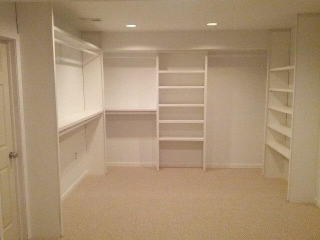 Guarda-roupa de gesso closet