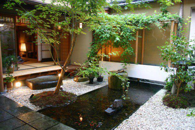 Jardim Zen em casa