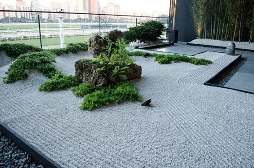 Jardim Zen grande Projeto de Casa Cor SP 2017