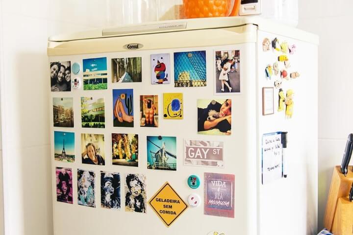 Lista de compras com geladeira sem comida Projeto de Casa Aberta