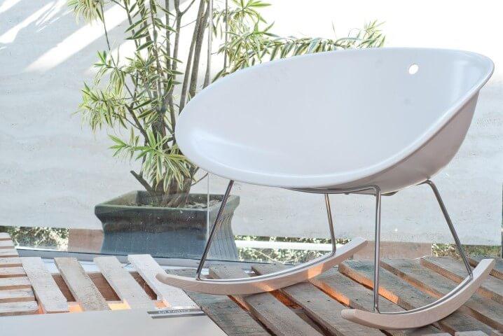 Modelos de poltronas de balanço Projeto de Zaav Arquitetura