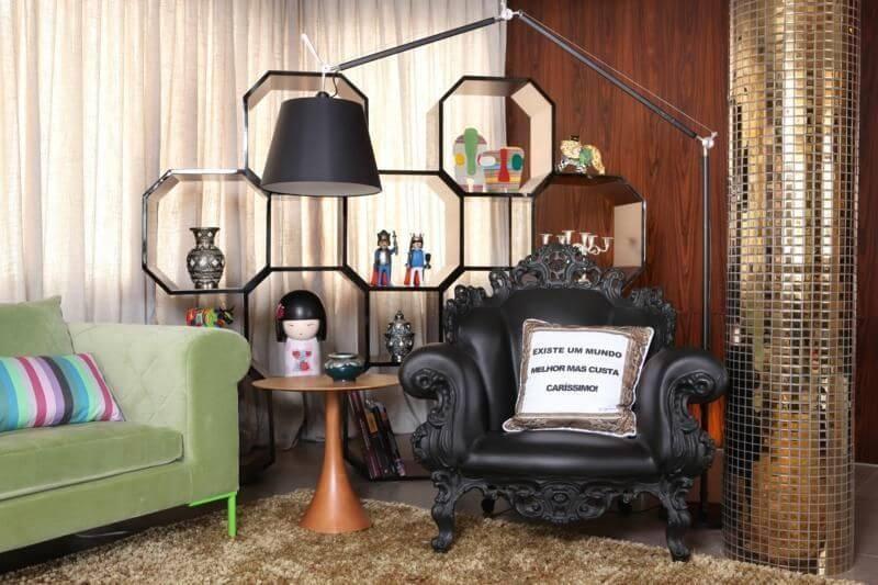 Modelos de poltronas de couro Projeto de Rodrigo Maia