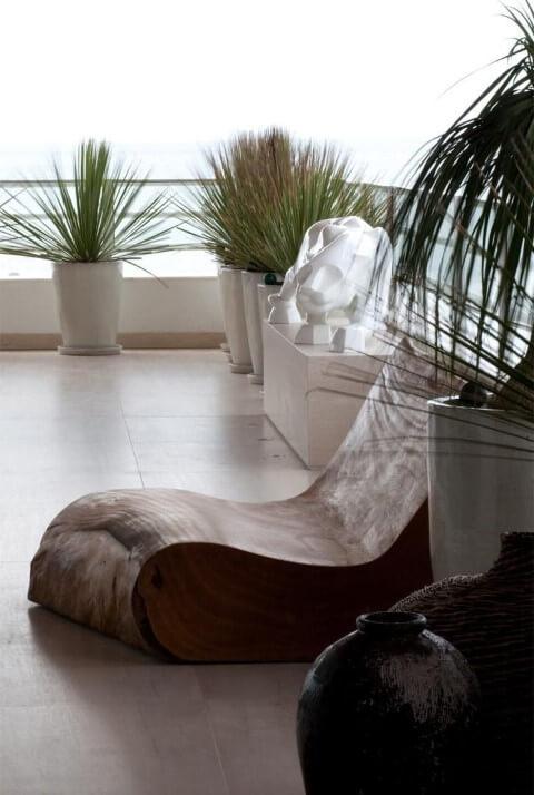 Modelos de poltronas de madeira Projeto de Jayme Bernardo